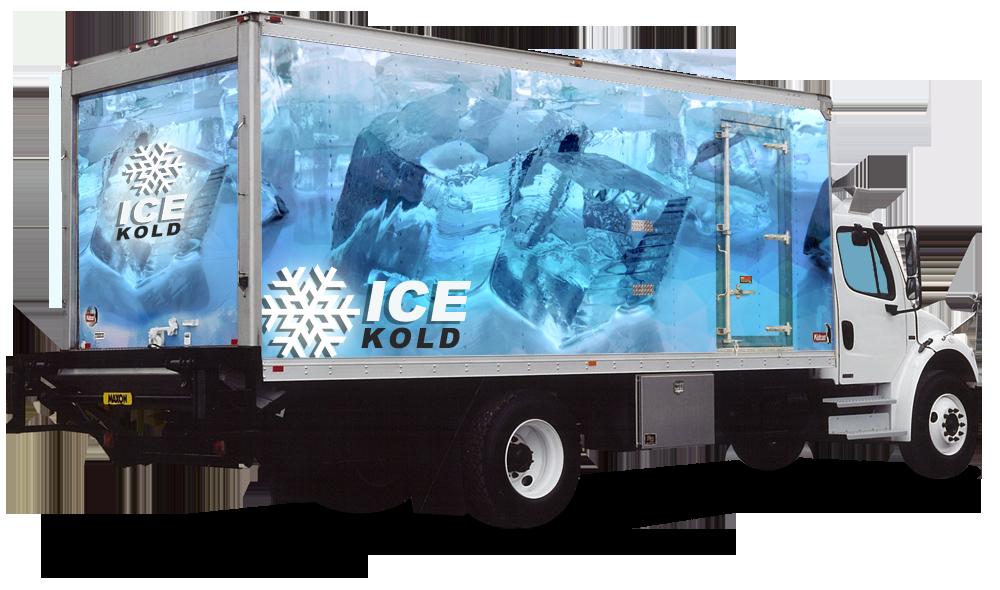 Kidron Ice Trucks