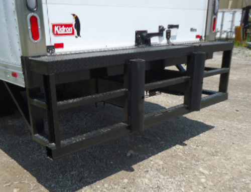 Full Width Rear Impact Bumper with Dock Extension
