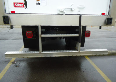 Rear Impact Bumper with Center Step