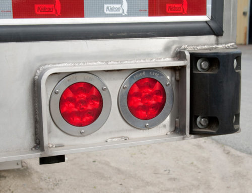 Protected Rear Lights