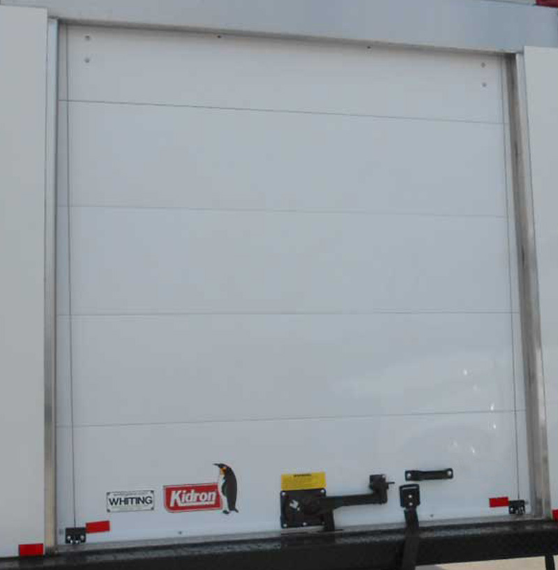Part Opening Overhead Door